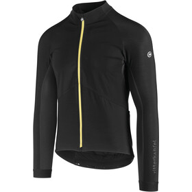 assos Mille GT Spring Fall Jacket yellow badge